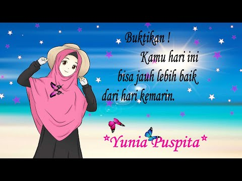 Animasi Kartun Muslimah Berhijab By Yunia Puspita Proyek Uts Rekayasa Multimedia Youtube