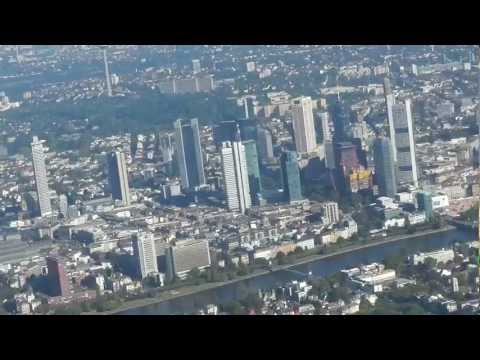Landing at Frankfurt Airport with Boeing 767 - 300 Full HD