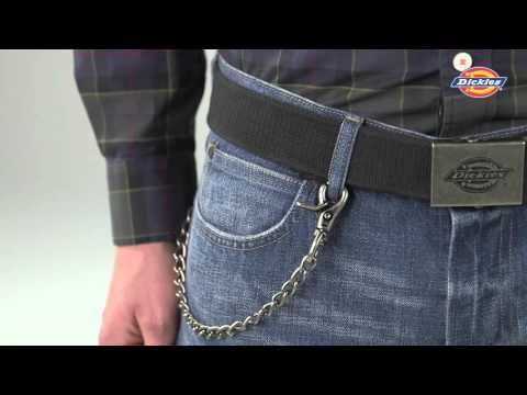 Dickies Slimfold Wallet With Chain