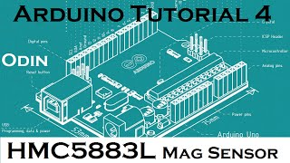 Arduino How To: HMC5883L Compass Magnetometer Tutorial