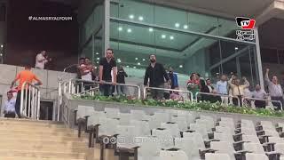 رد فعل ميدو عقب إحراز الزمالك هدفه الأول أمام الإنتاج الحربي في كأس مصر