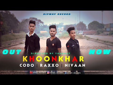 KHOONKHAR | OFFICIAL MUSIC VIDEO | CODO × RAXXO × NIVAAN | DIFWAY RECORDS
