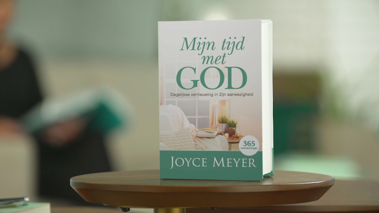 Mijn tijd met God – Een nieuw dagboek van Joyce Meyer