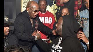 Birdman Parties With Migos, Lil Yachty, and Lil Baby At Nipsey Hussle Album Release
