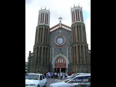 catholic cathedral... Port of Spain, Trinidad & Tobago (Caribbean)