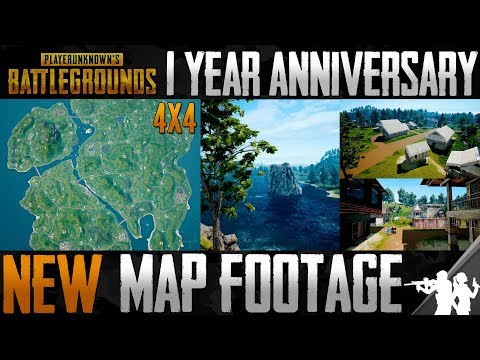 New Official Teaser Footage of the 3rd PUBG Map | 4x4 km Tropical Island Map Coming to PUBG in 2018