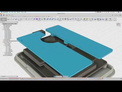 Fusion 360 Tutorial – Easy Snap Fit Cases!