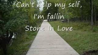 Journey-Stone In Love lyrics
