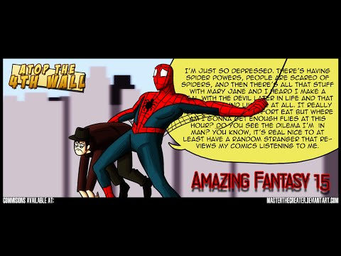 Amazing Fantasy #15 - Atop the Fourth Wall - Linkara