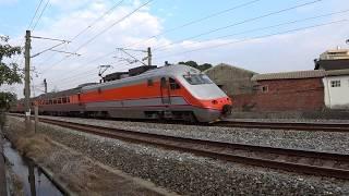 8795次試運轉列車通過大林鎮中興路地下道