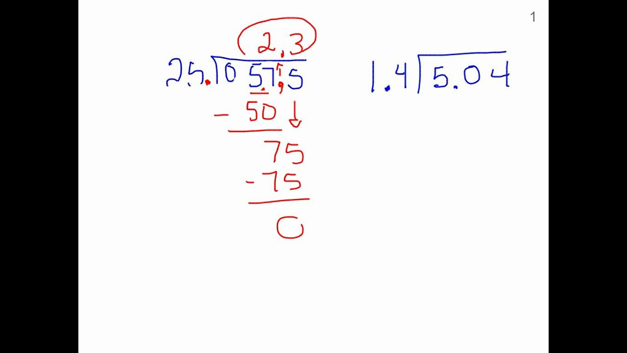 Worksheet Dividing Decimals 6th Grade 6th grade dividing by a decimal youtube decimal