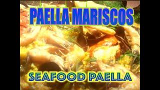 PAELLA MARISCOS (SEAFOOD PAELLA)