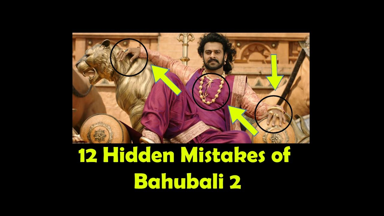 12 Hidden Mistakes of Bahubali-2 (The conclusion) || Ten Square
