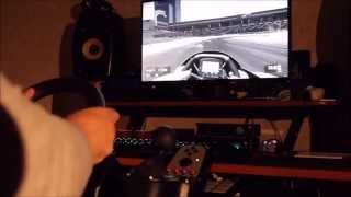 Project Cars - Dubai - Logitech G27 and Asus Swift G-Sync Monitor Live
