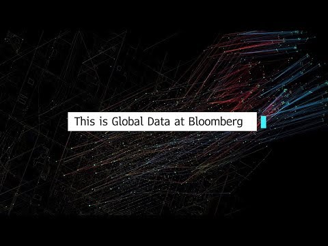 This is Global Data at Bloomberg
