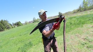How to Scythe + STOP Weeding, Watering and Fertilizing