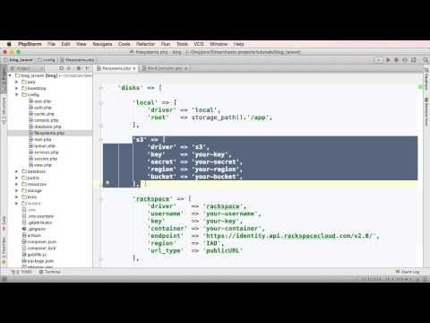 Trabalhando com Filesystem e Cloud Storage no Laravel 5