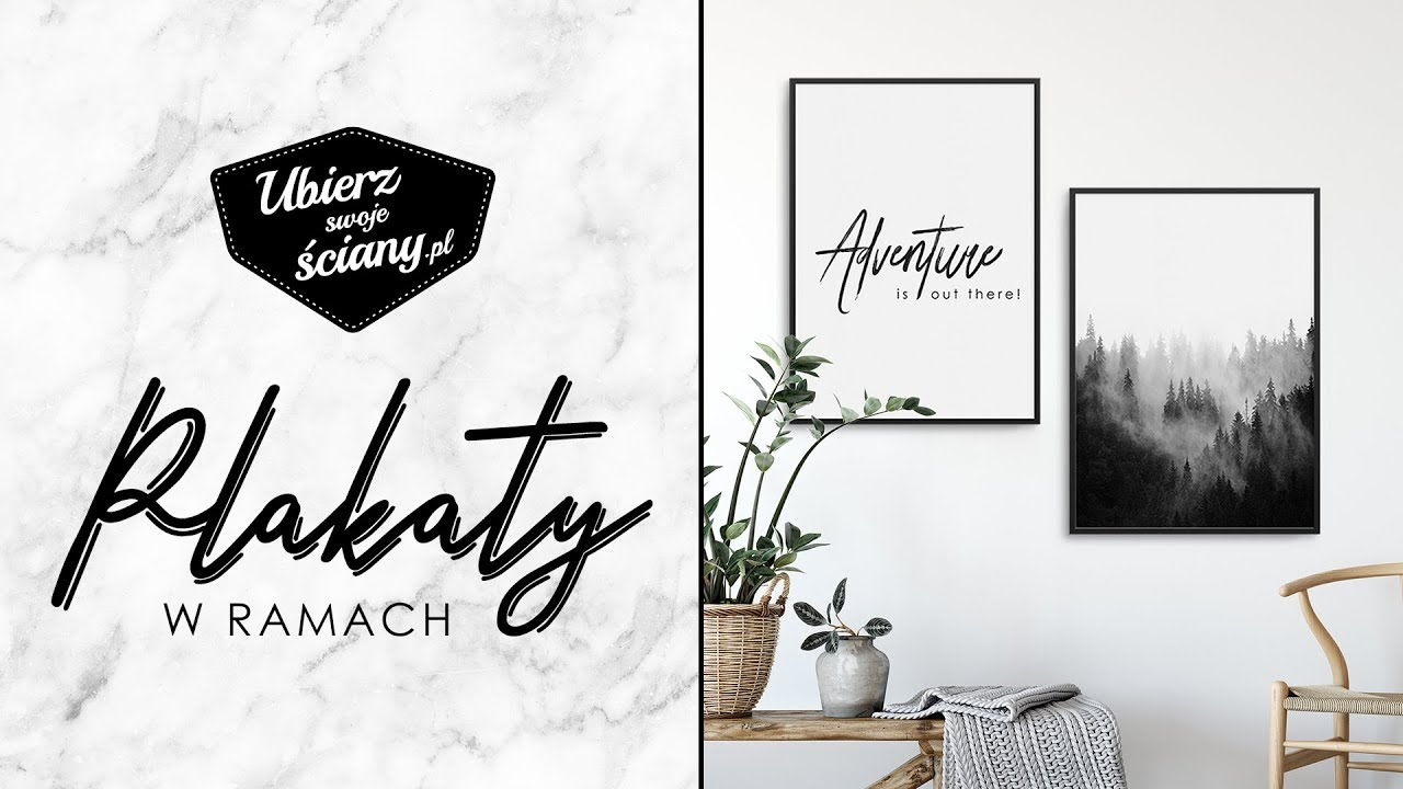 Prezentacja Produktowa Plakaty W Ramach Ubierz Swoje ściany