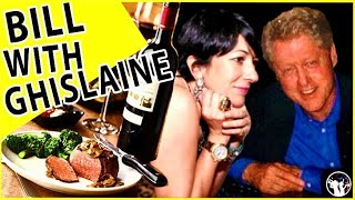 Wow! Bill Clinton's Lies And Dining With Ghislaine Maxwell Revealed!
