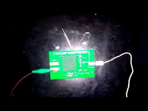 FREE Energy - Crystal radio with only 1 diode and 1 inductor