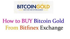How to BUY Bitcoin Gold from Bitfinex | 25 October 2017