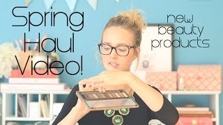 Spring Make Up Haul!! - Mostly Drugstore Products :) Thumbnail