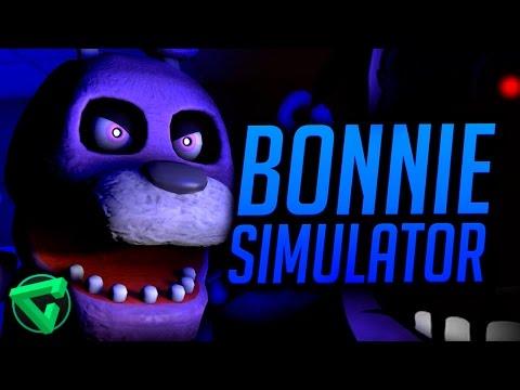 Bonnie Simulator 2 Best Fnaf Fan Game Ever Part 1