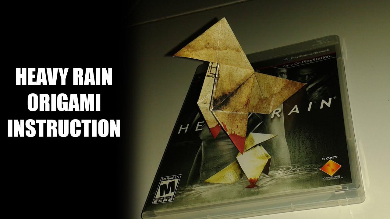 Heavy Rain Origami Paper Instruction