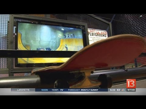 Indiana State Museum exhibit delves into science of skateboarding