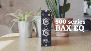 Pope Audio - Bax 2020 | 500 series EQ