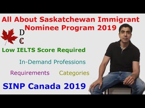 Saskatchewan Immigrant Nominee Program 2019 | All About SINP Canada