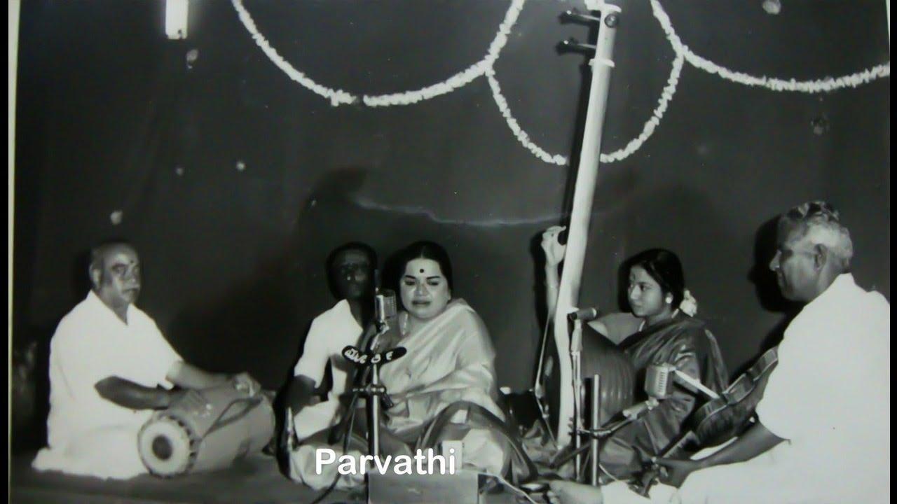 ML Vasanthakumari-Samaja Vara Gamana- Hindolam-Adi-Thyagaraja