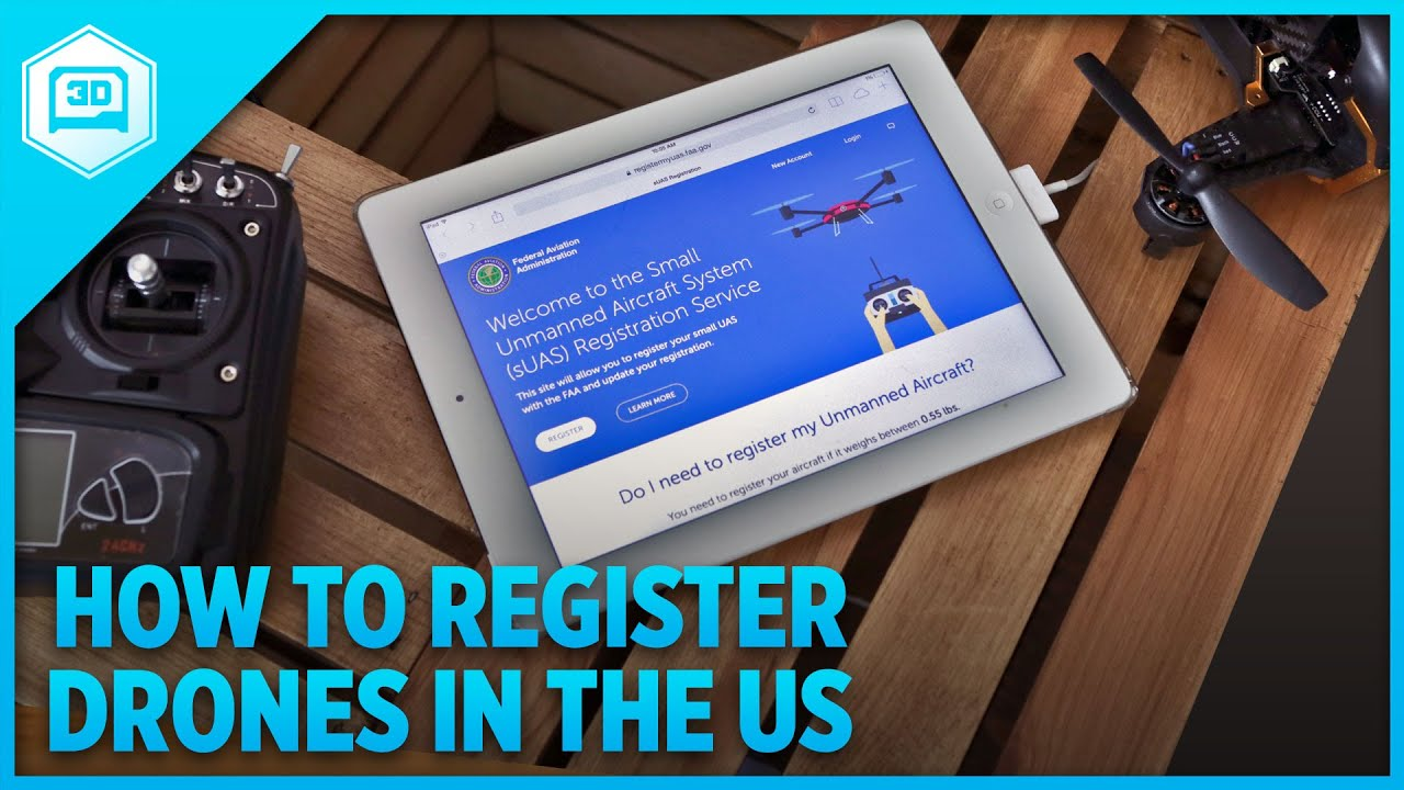 FAA Drone Overview | How to register your drone in the US
