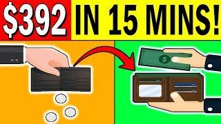 Earn $392.00 in 15 MINS 🔥NEW 2020 STRATEGY🔥 (WORLDWIDE) Make Money Online!