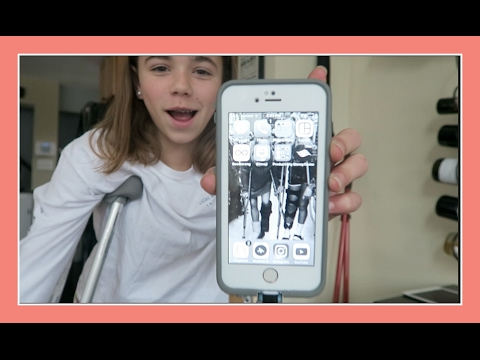 HER PHONE TURNED BLACK AND WHITE! | Flippin' Katie