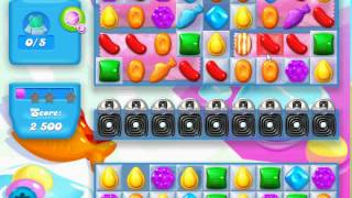 Candy Crush Soda Saga level 218 (3 star, No boosters)