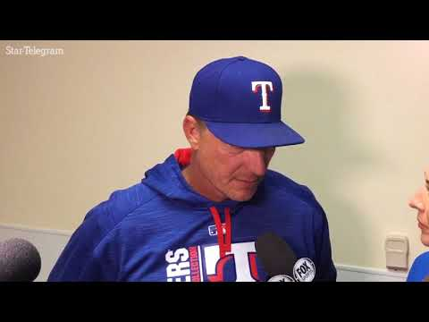 Rangers Jeff Banister credits Cole Hamels who takes loss despite strong outing