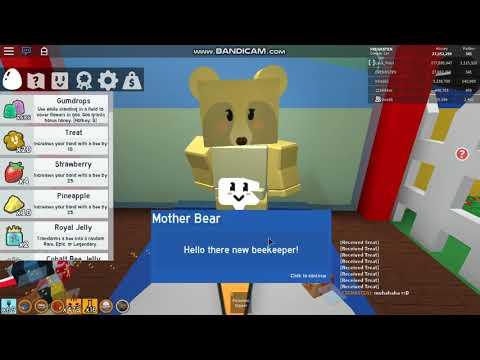 La Grand Mise A Jour Bee Swarm Simulator (mom Bear+plus) - Roblox