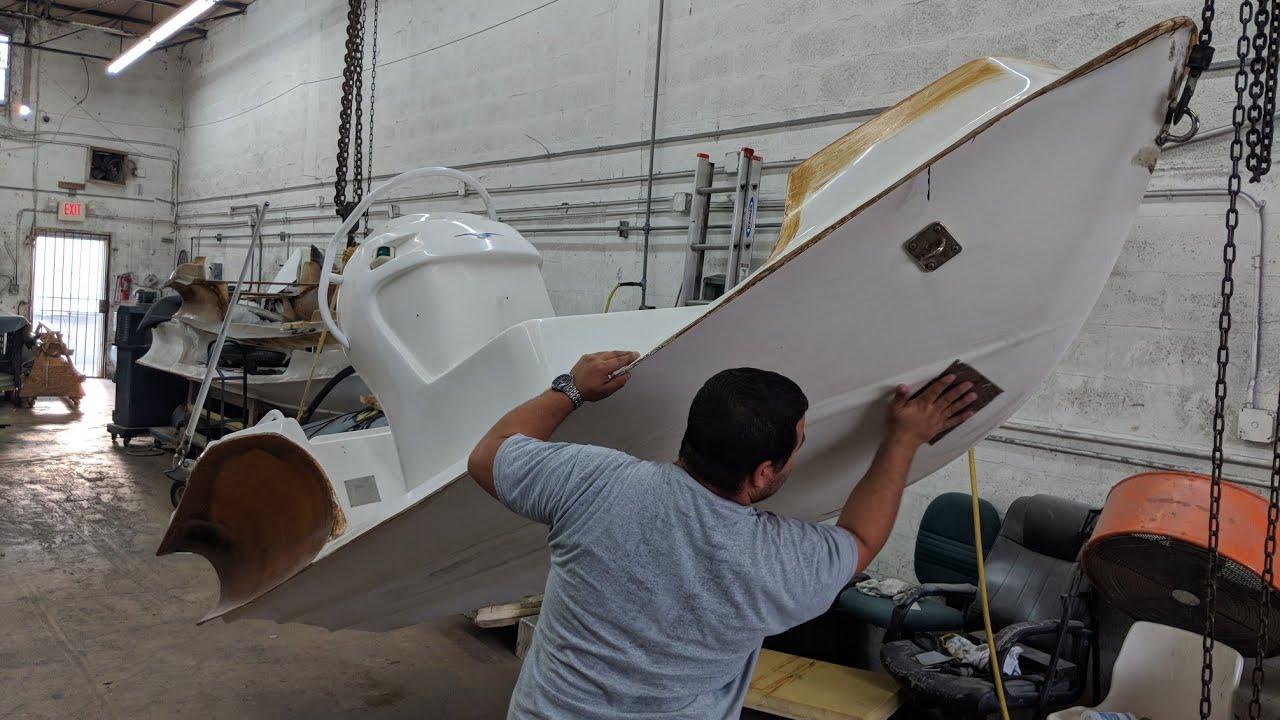 Nautica wide-body 13 5 full repower and retube restoration (Part 2)