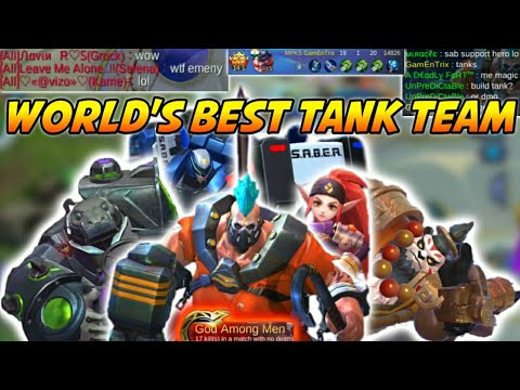 WORLD'S BEST TANK TEAM ft. WOLF XOTIC | #GamEnTrix