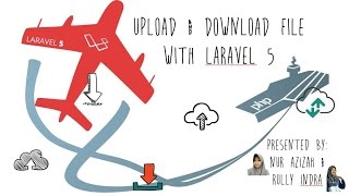 Upload and Download File with Laravel 5