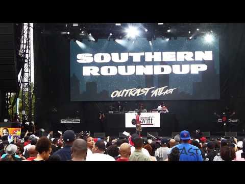 Kilo Ali Live Concert Outkast #ATLast Atlanta 2014