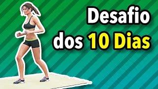 Gambar cover Desafio Dos 10 Dias - Treino de 10 Minutos Para Perder Gordura Rápido