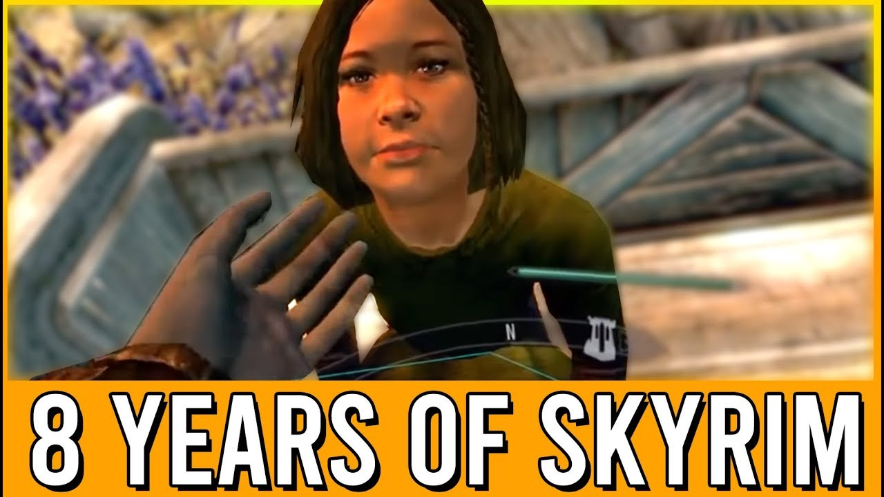 8 Years of Skyrim Funny Moments – ESO Reacts! thumbnail