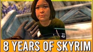 8 Years of Skyrim Funny Moments - ESO Reacts!