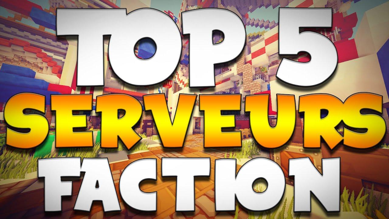 Top 5 Serveurs Faction Minecraft Crack 1 8 Youtube