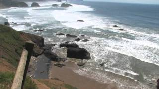 Ecola State Park, Oregon Coast Line