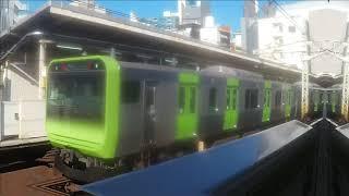 【JR山手線】 E235系トウ47編成 新宿・池袋方面行き 代々木発着