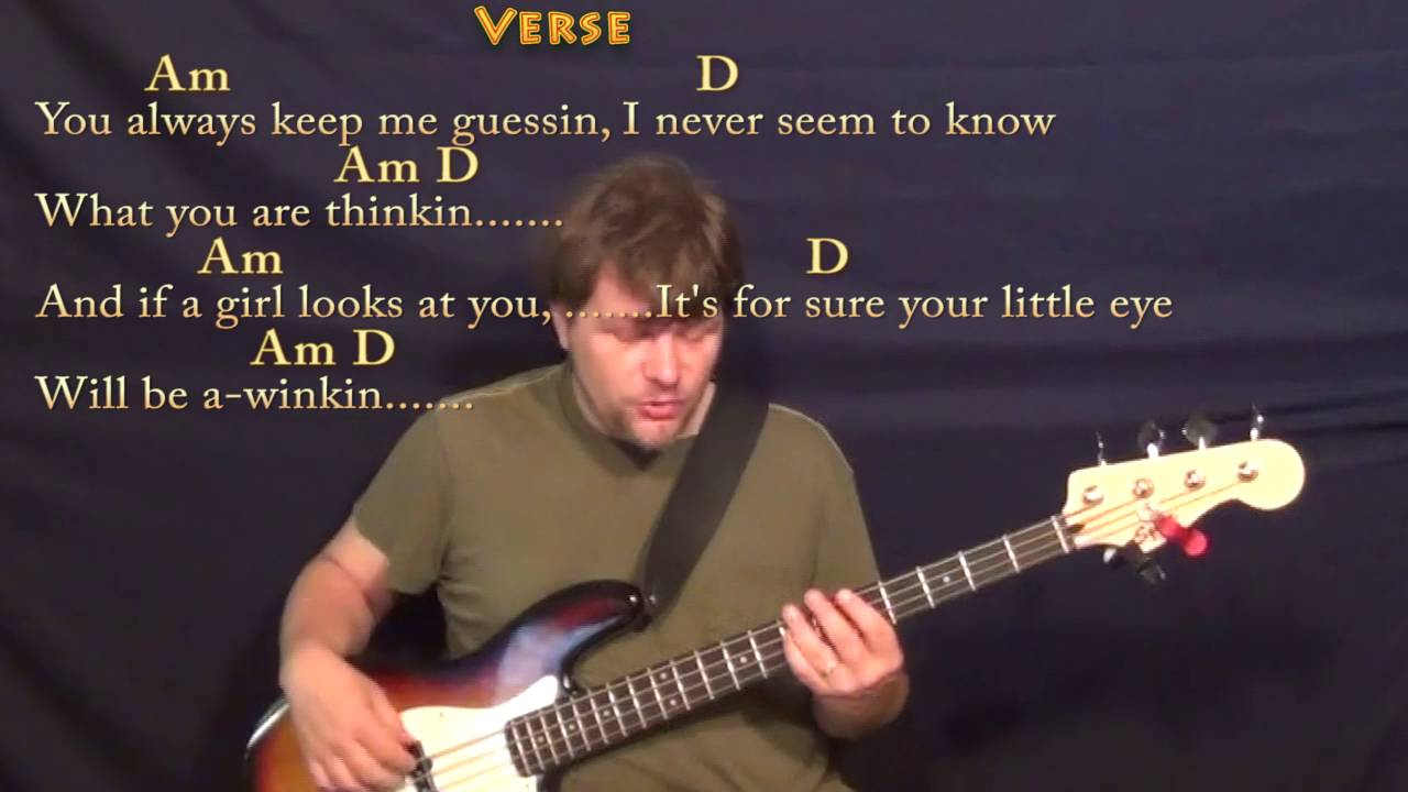 Spooky Dusty Springfield Bass Guitar Cover Lesson In Am With