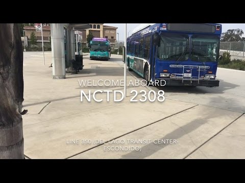 NCTD BREEZE 2004 New Flyer C40LF #2308 | Coin Lloyd's Transit Hub